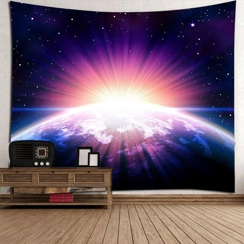 Галактика Звездная звезда Земля Висячие стены и Одеяло Фон Ткань Многоцелевой Винтаж Хиппи-Бич и Йога Полотенце