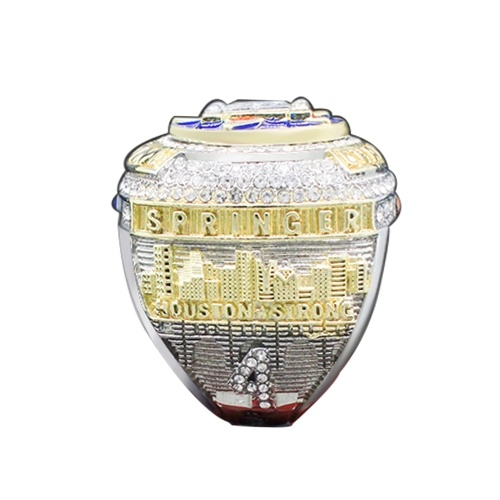 2017 Хьюстонский перманентный мемориальный перстень высокого качества Стильная Европа и Америка Мужчины / Женское кольцо Сувенир