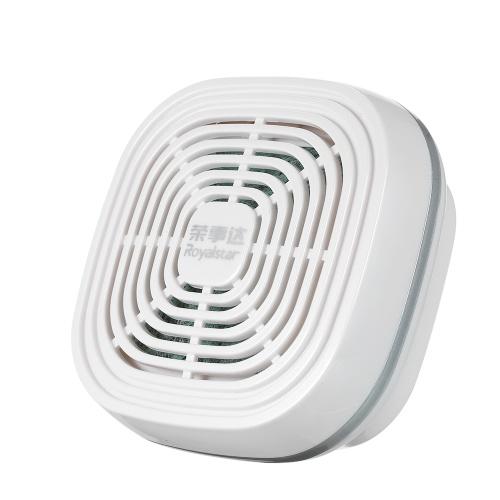 Purificador de aire de coche portátil Royalstar Mini filtro de aire PM2.5 Humo de formaldehído Eliminador de polvo de mal olor Sin energía necesaria