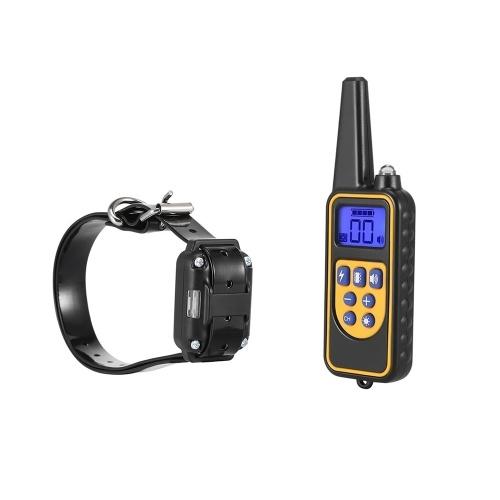 880 Электрическая собака Обучение Воротник Пульт дистанционного управления водонепроницаемый