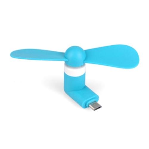 Портативный Super Mute USB Cooler Cooling Mini Mobile Phone Fan Случайный цветной стиль 1 для Android