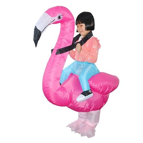 Nadmuchiwany kostium Flamingo