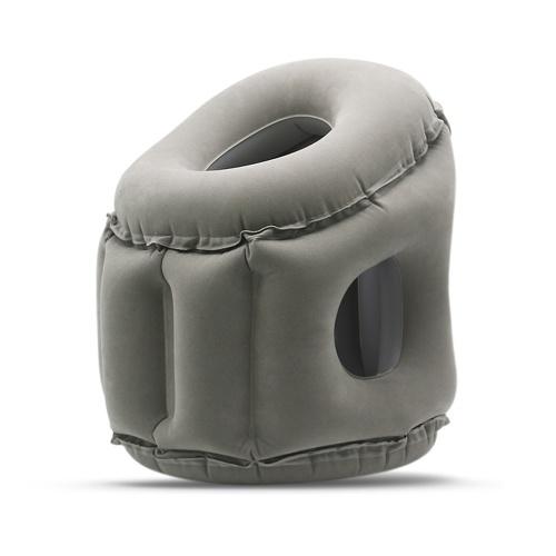 Almohada de viaje almohadas inflables Air Soft Cushion - Tipo de soplado de boca