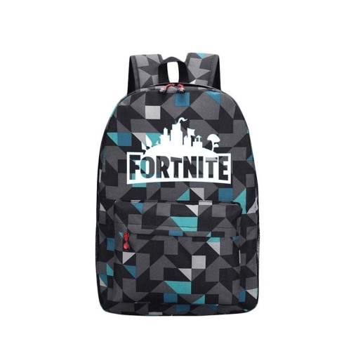 Fortnite Night Game Sac d'école lumineux