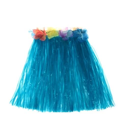400 mm hawaiana falda de hula decoraciones tropicales del partido