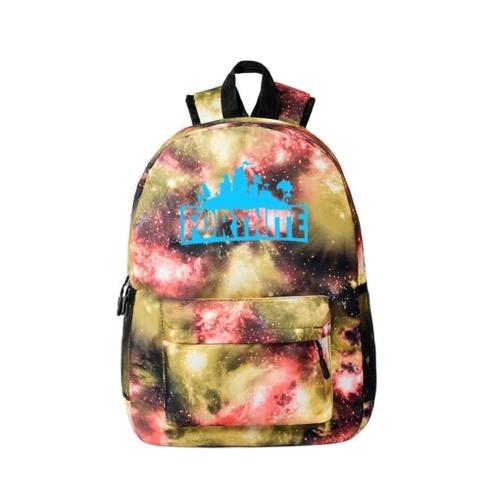 Fortnite Night Game Luminous Backpack Mochila escolar
