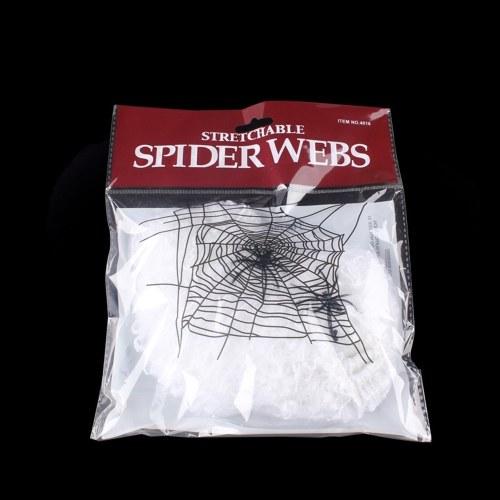 Halloweenowa pajęcza sieć