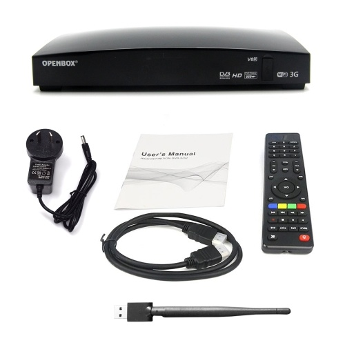 V8S TV Box New Intelligent Satellite Player
