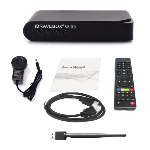 V8 HD TV Box New Intelligent Satellite Player Practical Smart Set Multifunctional With Wifi