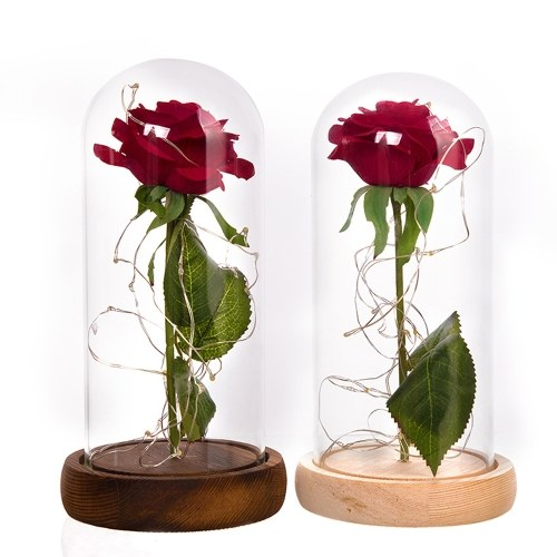 Glass Decoration Internal Rose DIY Decoration Lamp