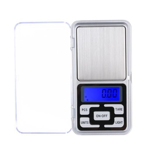 Hohe Präzision Mini Elektronische Digitalwaagen 100g / 0,01g