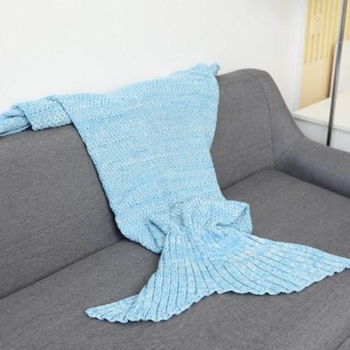 Mermaid Tail Manta para bebé y dama