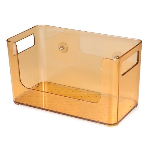 Organizador do armazenamento do portador da cesta do transportador da sucção do chuveiro do banheiro