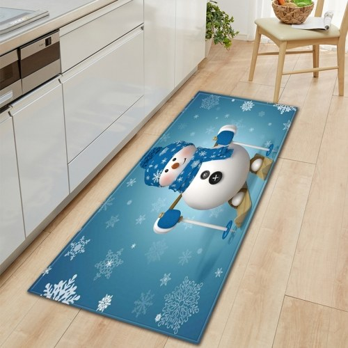 Christmas Style Non-slip Carpet Home Decoration