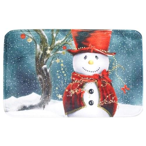 Home Use Christmas Carpet Mat Anti-Skidding Doormat