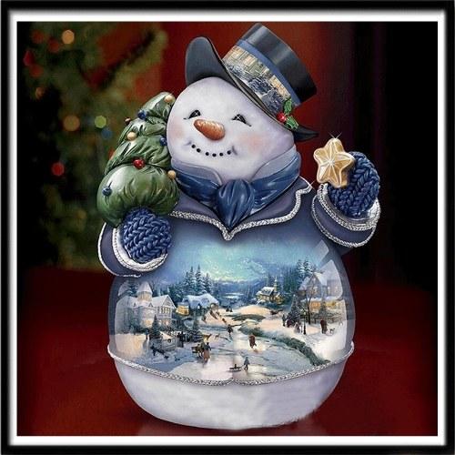 Robótki MAJSTERKOWICZA 5D Haft świąteczny Mikołaj Kompletny Rhinestone Cross Stitch Zestaw do malowania diamentami