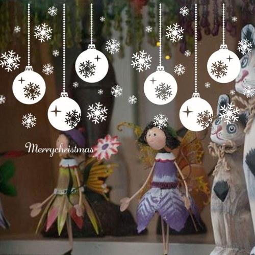 Etiqueta criativa da parede da casa do PVC da série do Natal