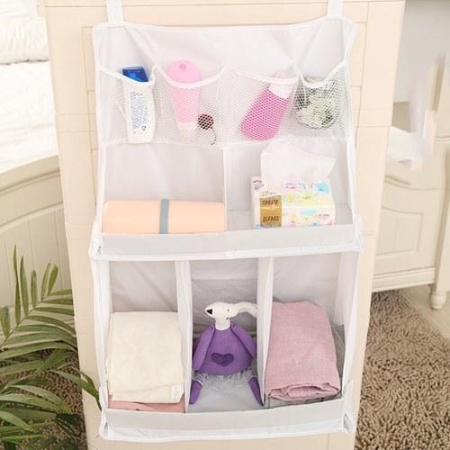 Universal Baby Nursery Organizer Diaper Organizer Wipes Storage Bag