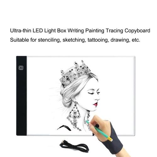 Ultra-thin A4 LED Light Box Writing Painting Tracing Board