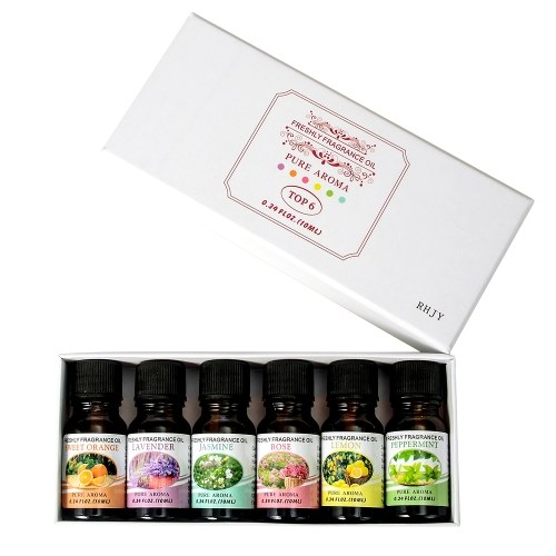 6 Bottles/Set 10ml Essential Oil