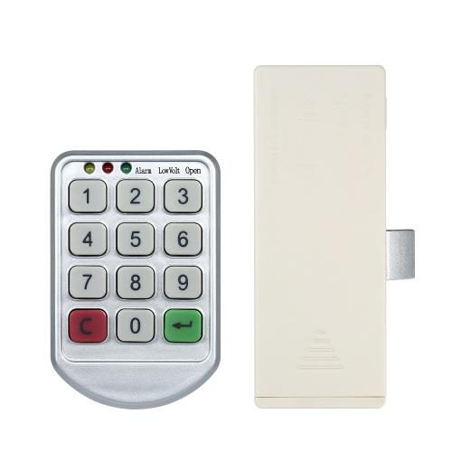 Electronic Password Keypad Cabinet Lock ...