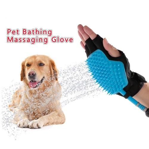 Dog Grooming Shower Sprayer Pet Bathing Glove Tool