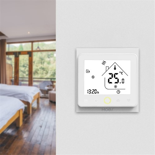 MOES 5A Smart Thermostat Intellight Temperature Controller Water / Gas Boiler for Home No Wi-Fi