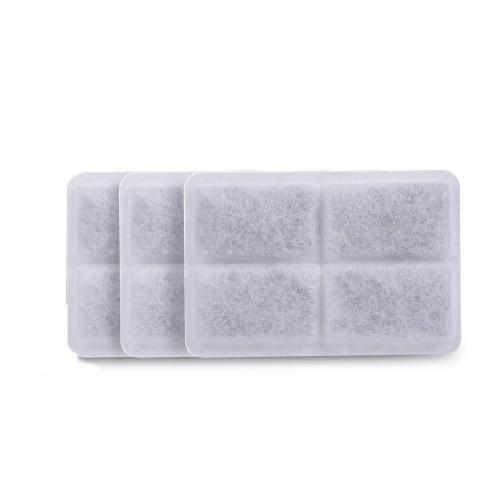 3PCS Holzkohle Wasserfilter Set