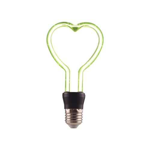 Светодиодная лампа накаливания в форме сердца