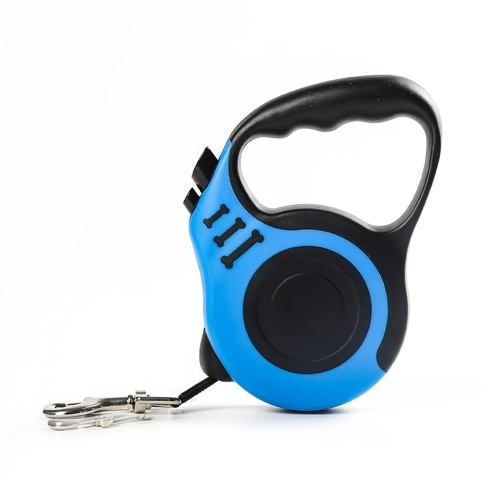 Dog Automatic Retractable Leash Non Slip Grip Upgraded Lock System(3 Meters)