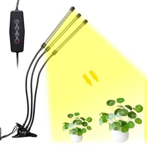 LED Grow Light for Indoor Plant 30W LED Full Spectrum Plant Lights