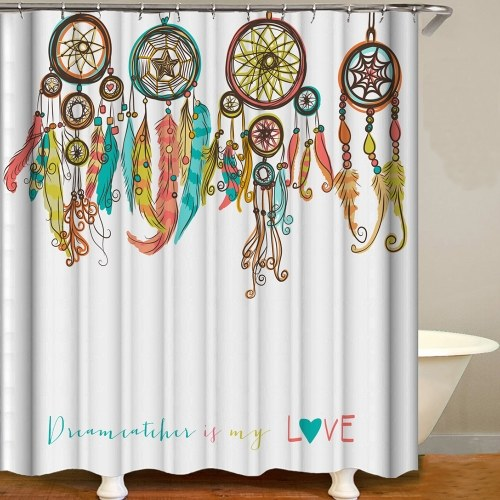 Shower Curtain Fresh Style Blackout Curtains