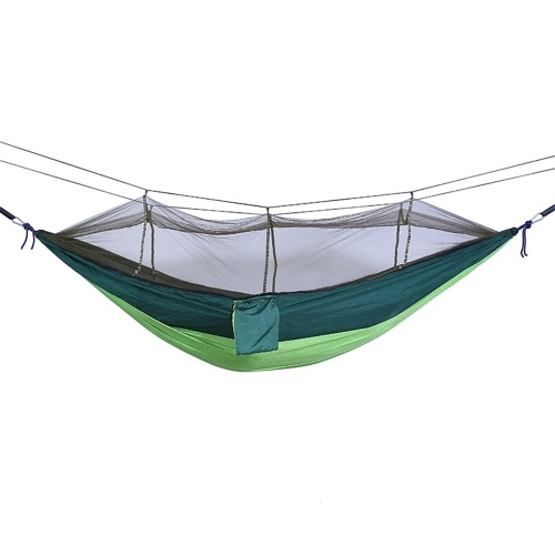 Camping Hammock With Mesh Net
