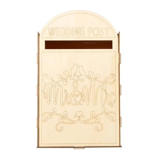 Romantische Hochzeit Mr & Mrs Mailbox