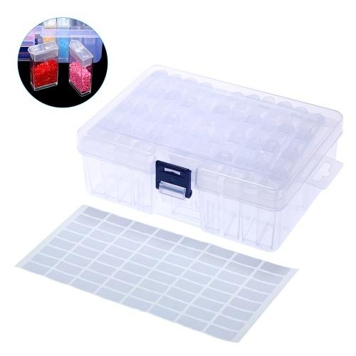 Clear Plastic Diamond Storage Box