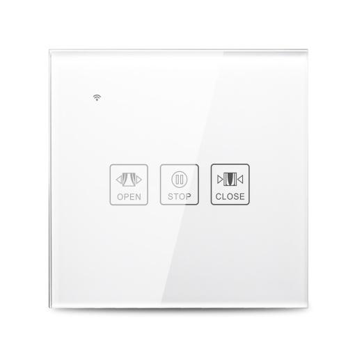 Alexa Google Home APP Controlと互換性のあるWi-Fiスマートカーテンタッチスイッチガラスパネルボイスコントロール