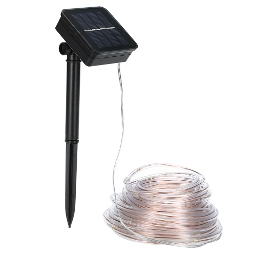Solar Lichterketten 46ft 120 LED Lichtschlauch