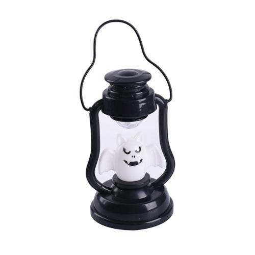 Porp Skull Pumpkin Bat Night Lamp