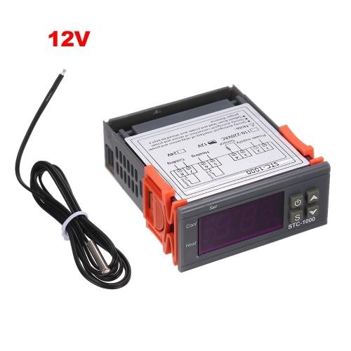 Termostato Centígrado refrigerando de aquecimento do controlador de temperatura de STC-1000 Digitas