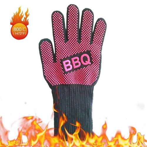 BBQ Gloves Heat Resistant Grill Gloves