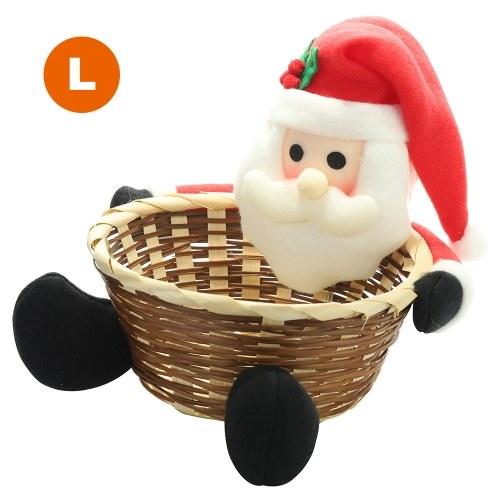 Cesta de almacenamiento de Navidad Candy Box