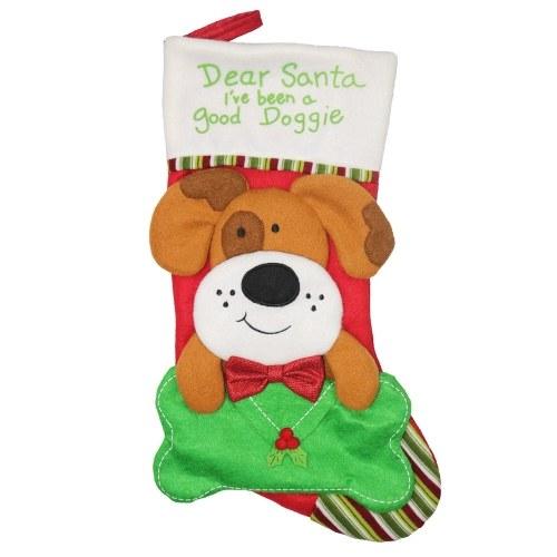 Christmas New Style Creative Dog And Cat Christmas Socks