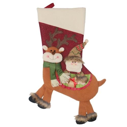 Navidad nuevo estilo creativo bolsa de dulces navideños