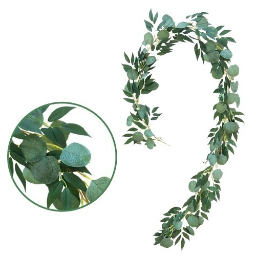 Christmas Artificial Hanging Vines Leaves