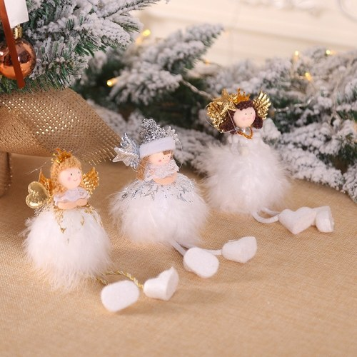Christmas Plush Standing Angel Doll