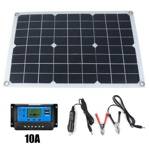 Pannello solare in silicio monocristallino 50W 12V / 5V