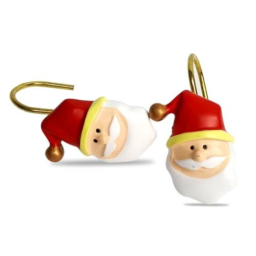 Duschvorhanghaken Weihnachten Dekorativ