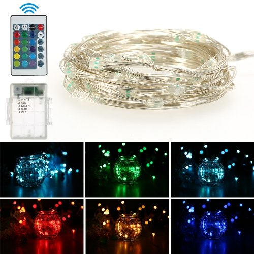 5M 50LED String Lights Waterproof Outdoor Decoration Wedding Christmas 16 Mode