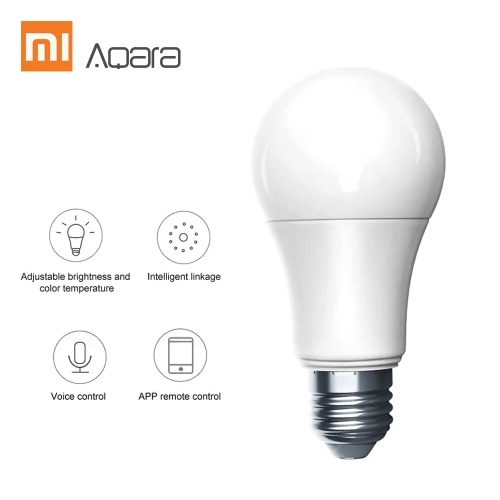 Aqara ZNLDP12LM LEDs Intelligent Bulb Adjust Brightness and Color Temperature Freely APP Remote Control Timing Switch