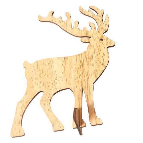 Natale artigianale in legno